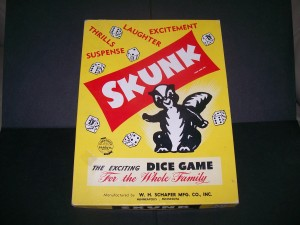 1953 skunk dice game