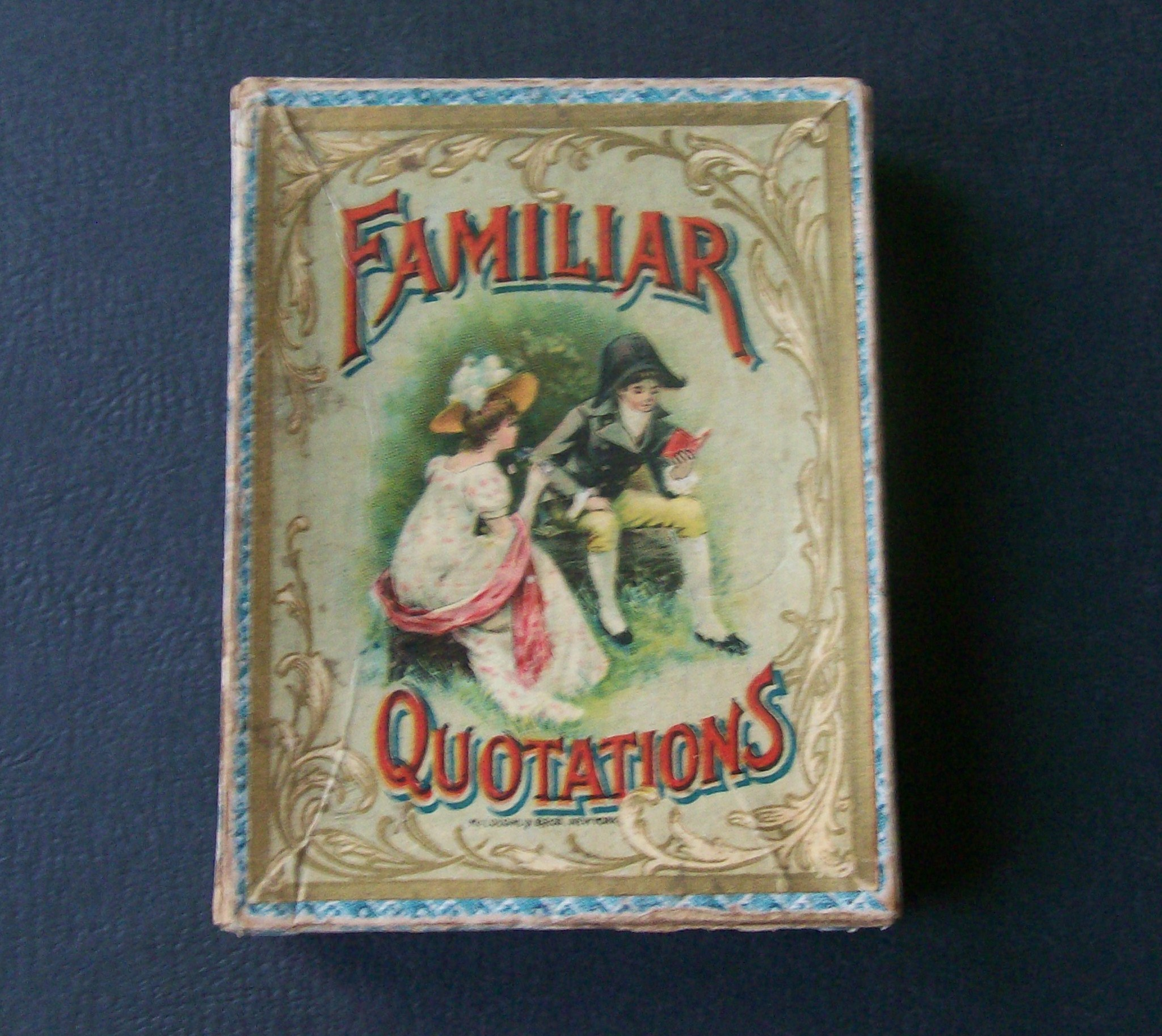 Familiar Quotations card game