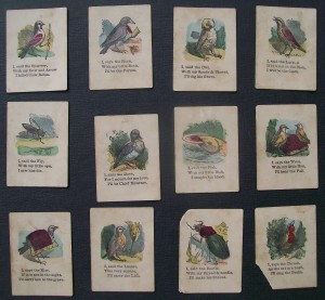 mcloughlin brothers cock robin card game cards