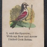 cock robin sparrow game card