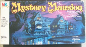 mystery mansion vintage board game