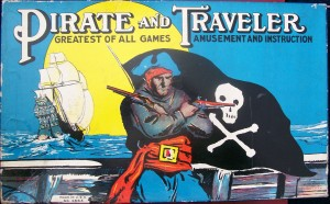 milton bradely pirate and traveler board game