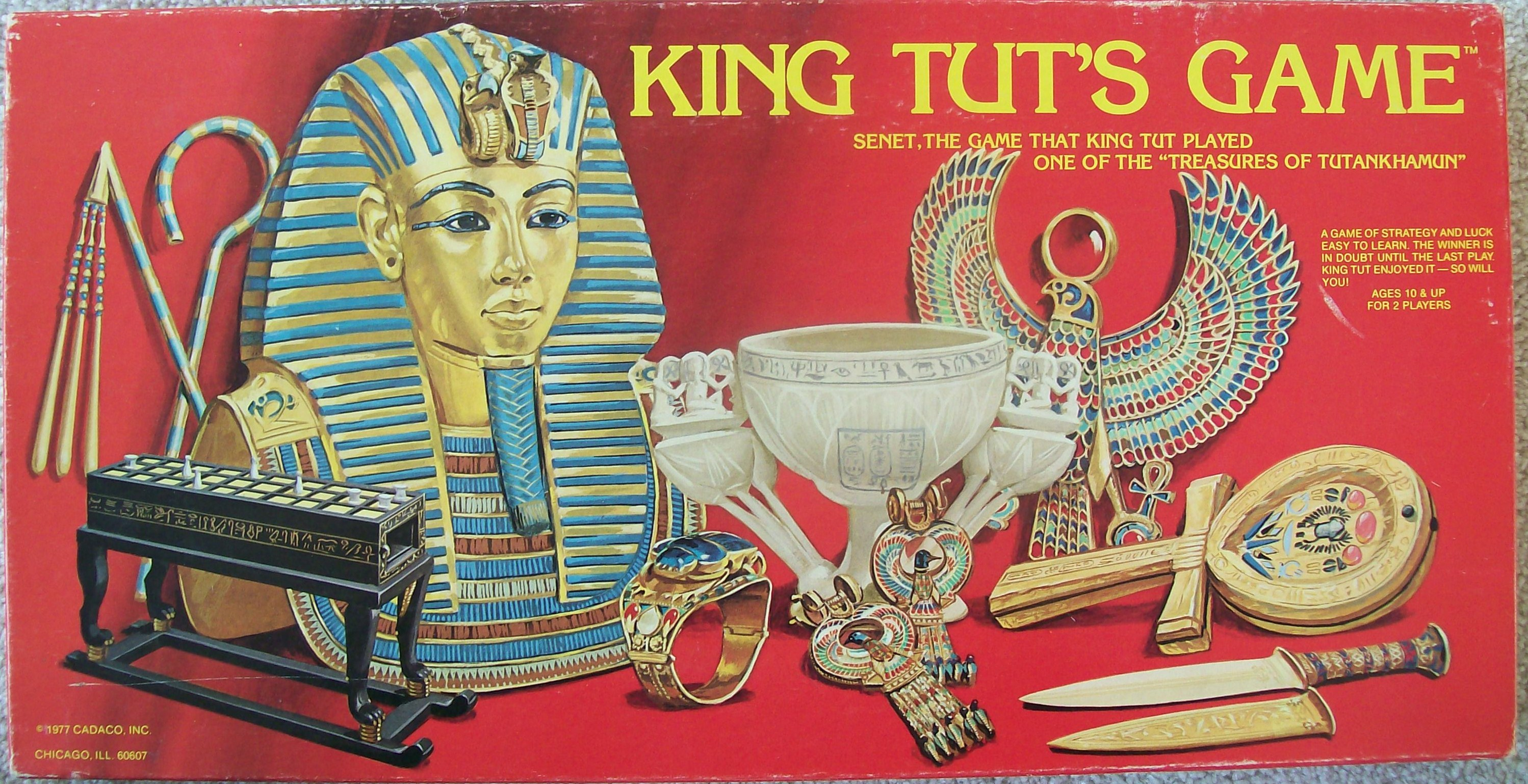 tutankhamun game