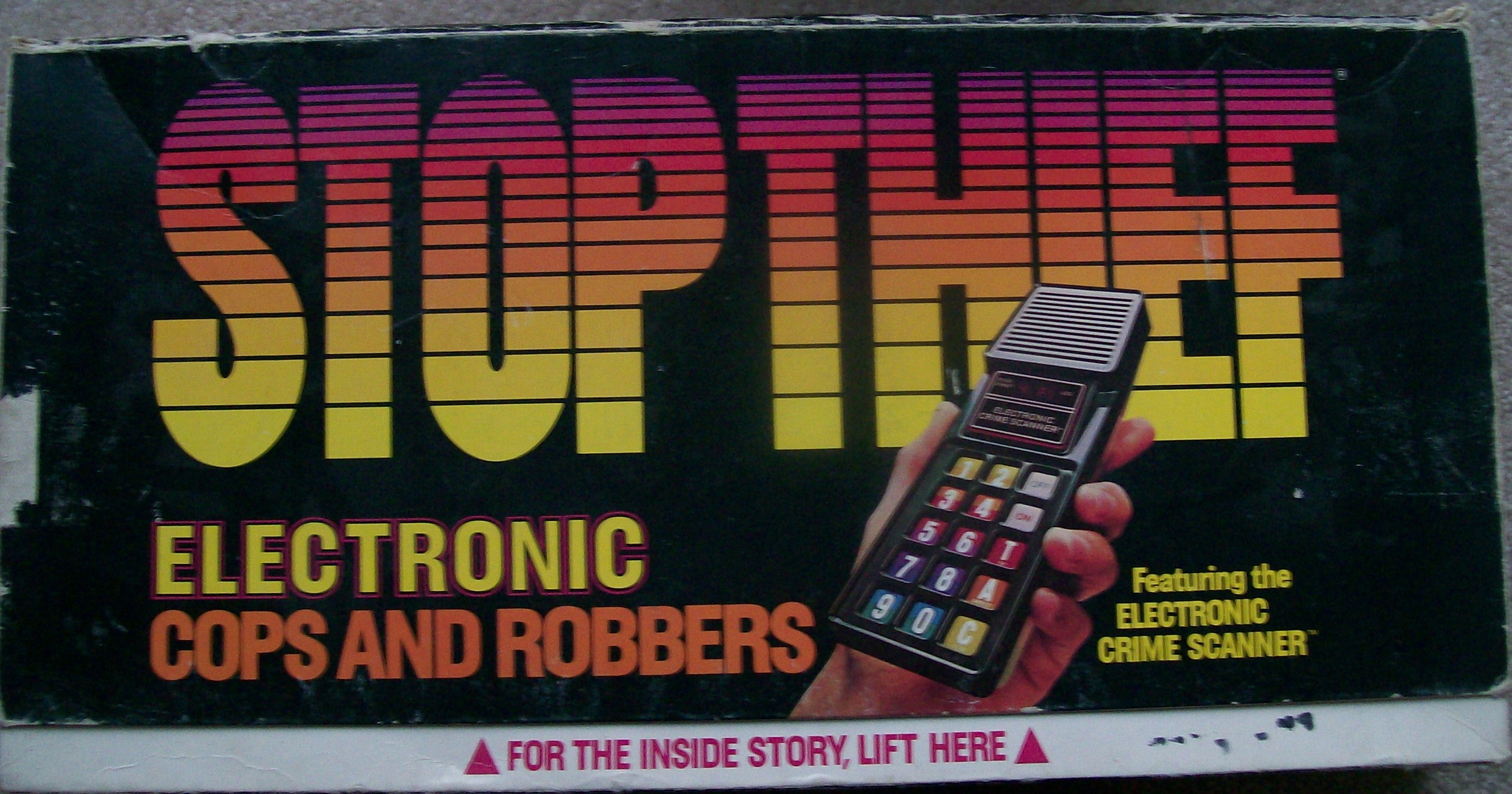 vintage game 1979 Stop Thief Board Game