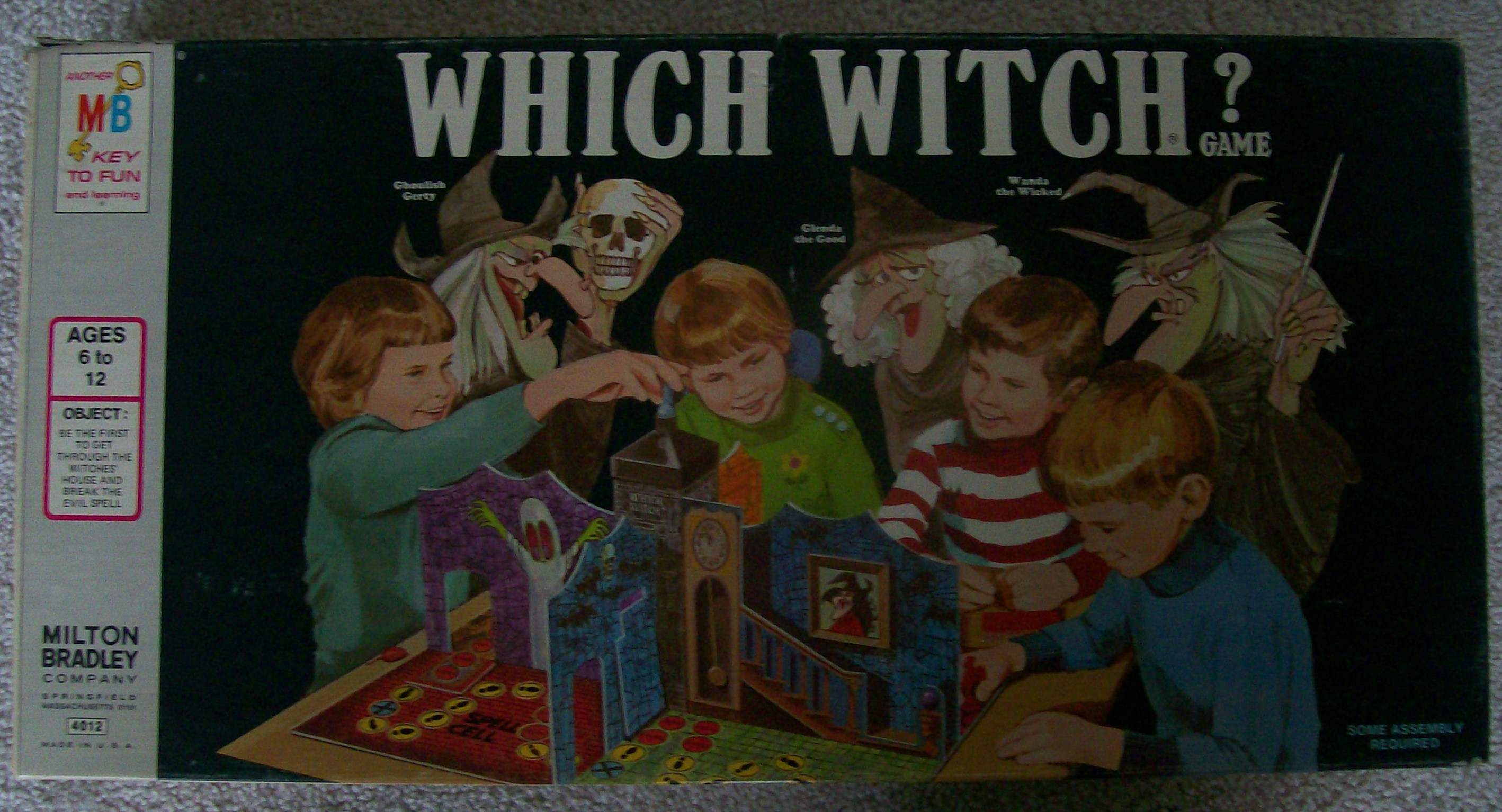 Which Witch board game