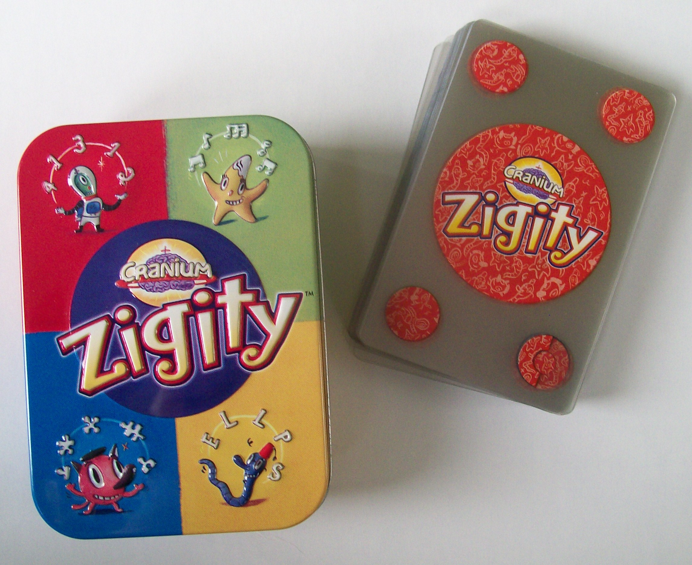 Zigity card game