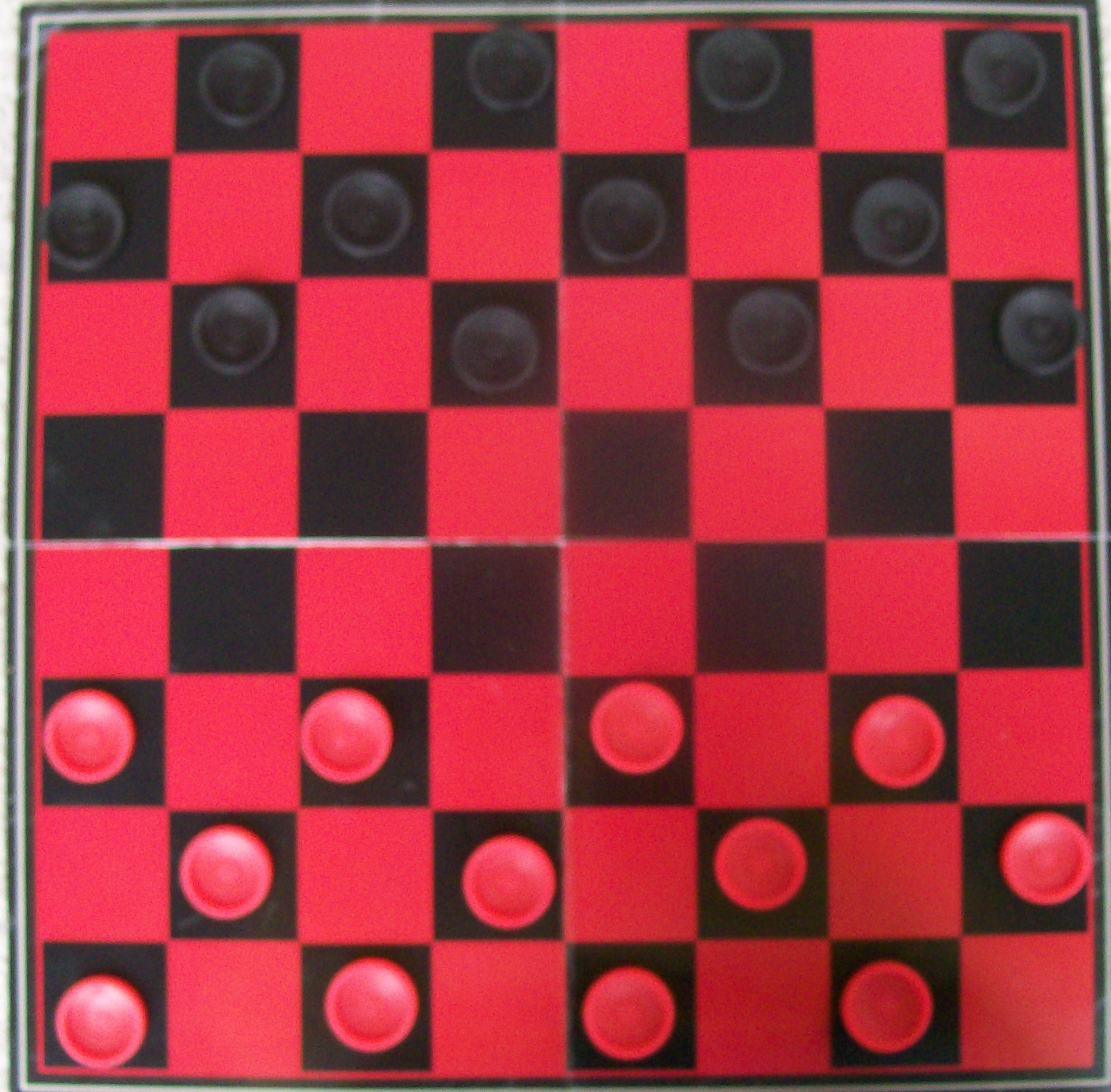 2 player checkers game