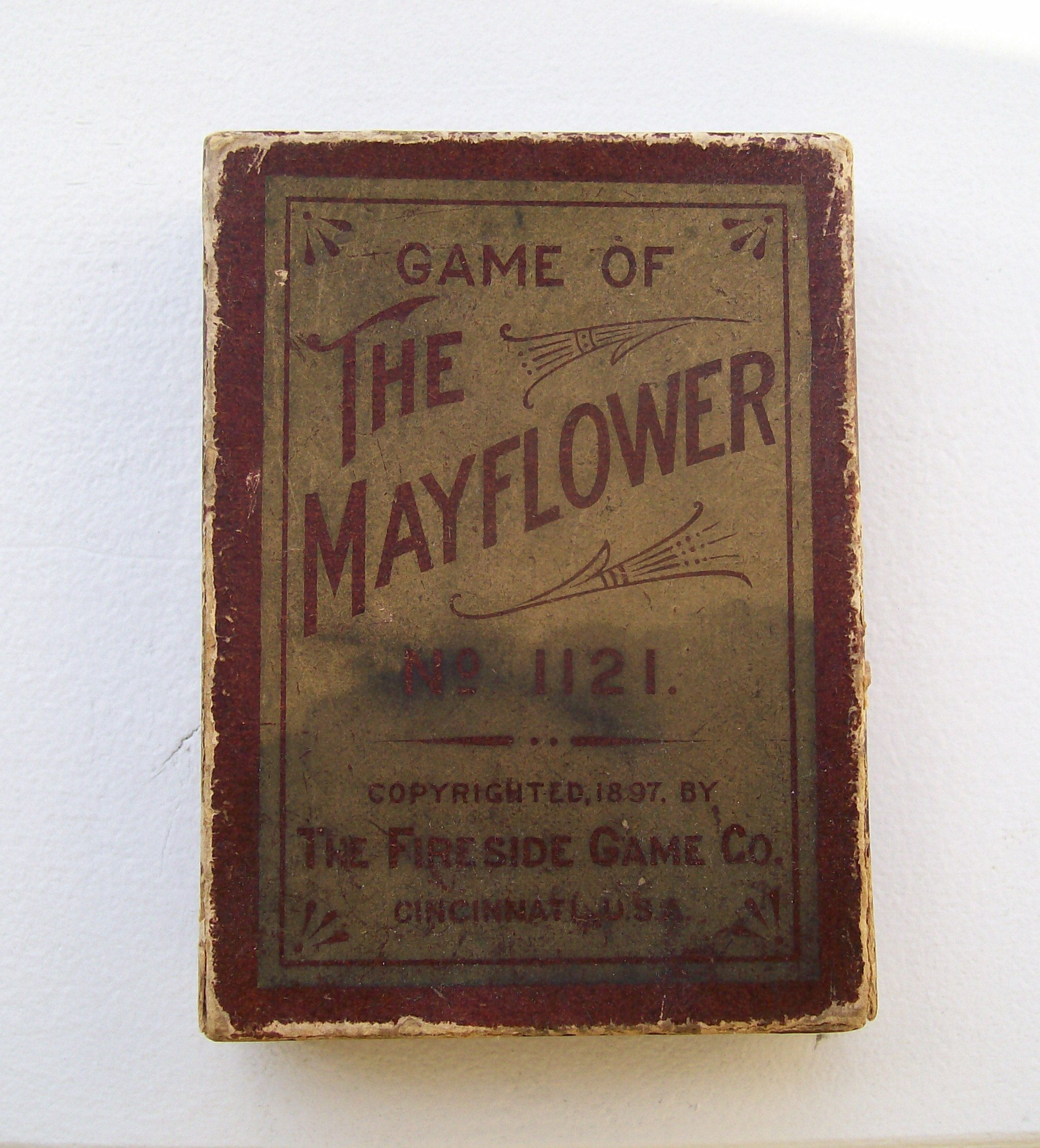 fireside game company card game mayflower