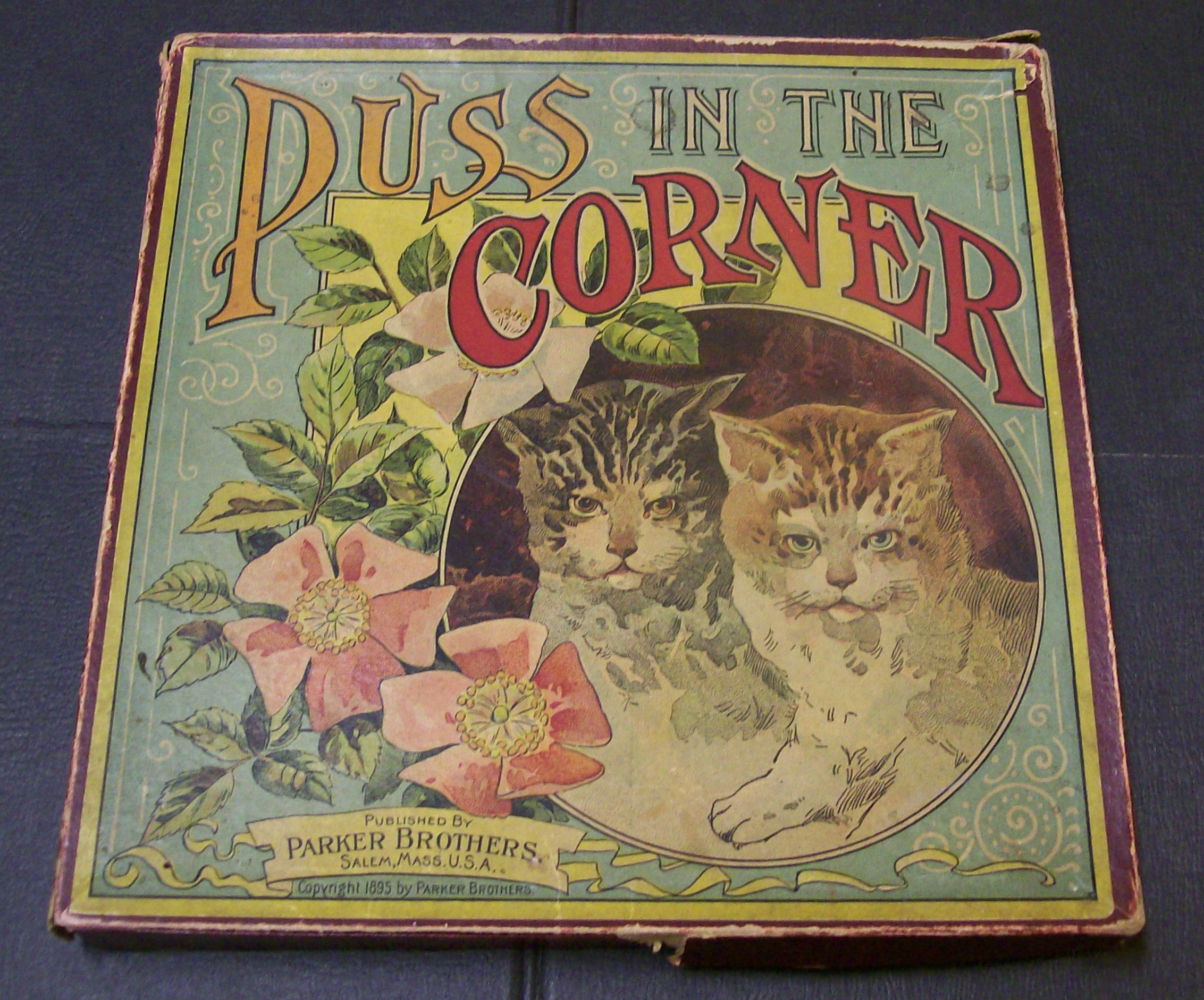 old parker brothers board game