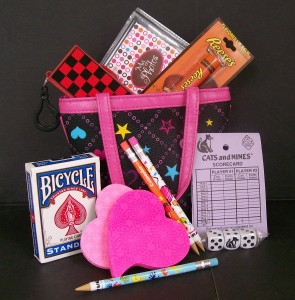 fun and games gift basket