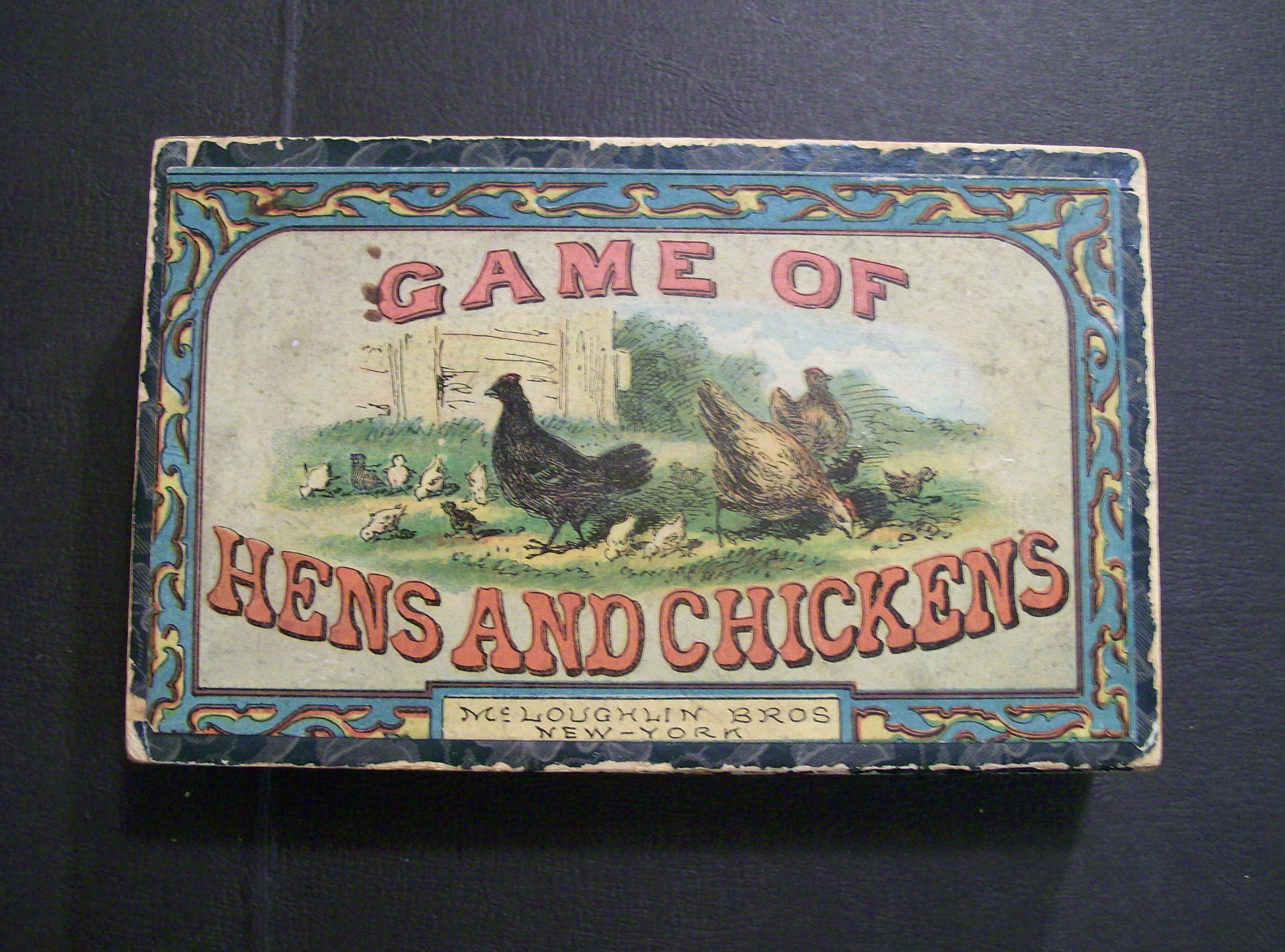 Game of Hens and Chickens