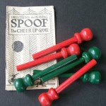 Spoof game batons