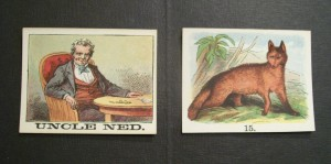 mcloughlin bros. game cards of uncle ned and the fox