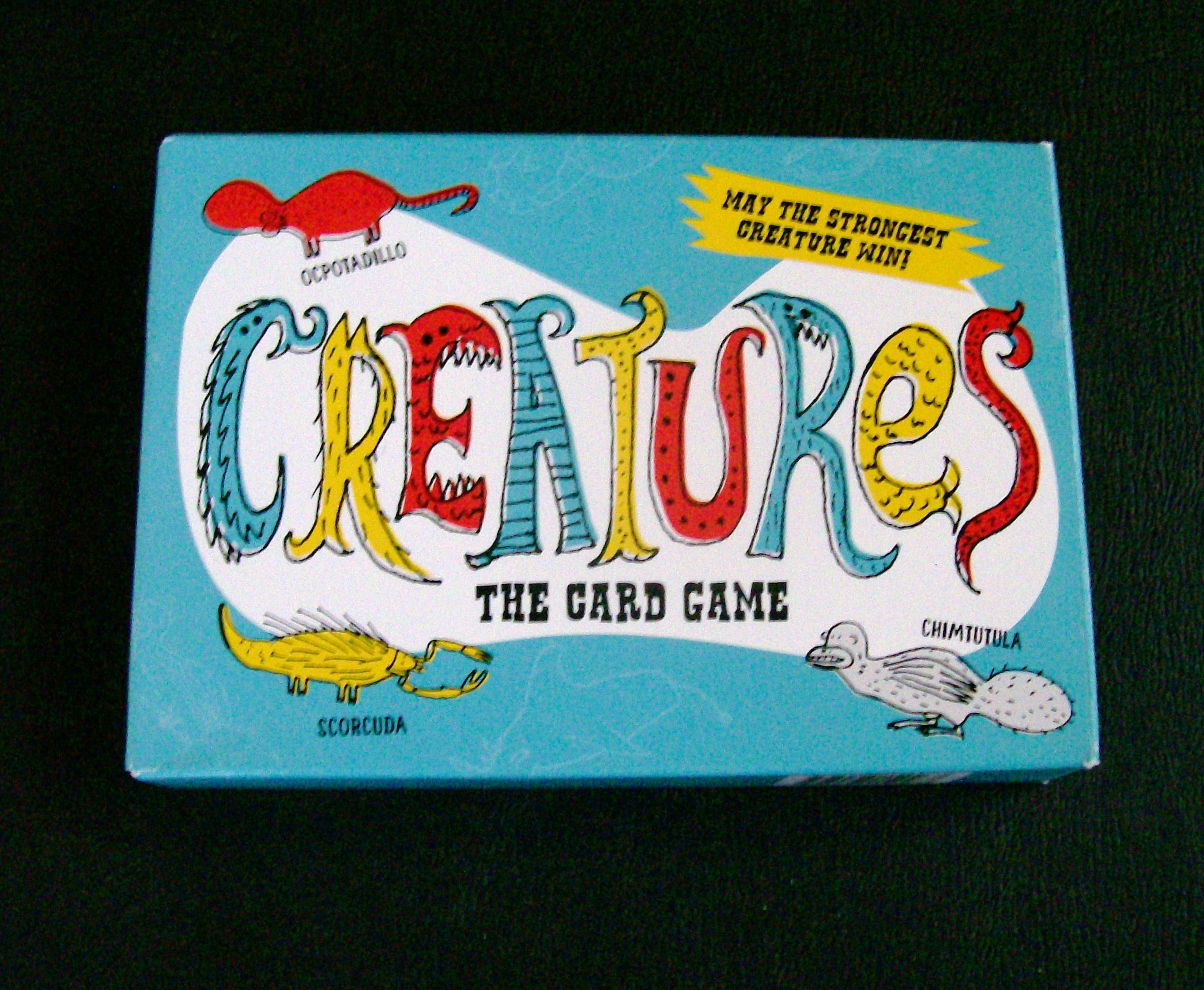 creatures new card game