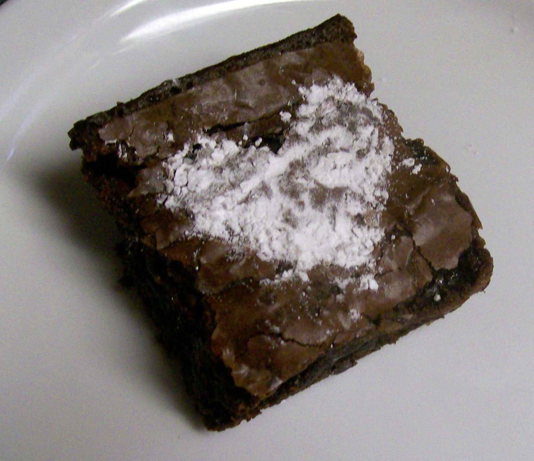 game night recipe of dusted heart brownies