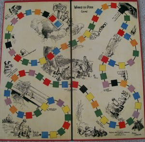 parker brothers 1933 game board