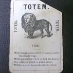Lion Totem card
