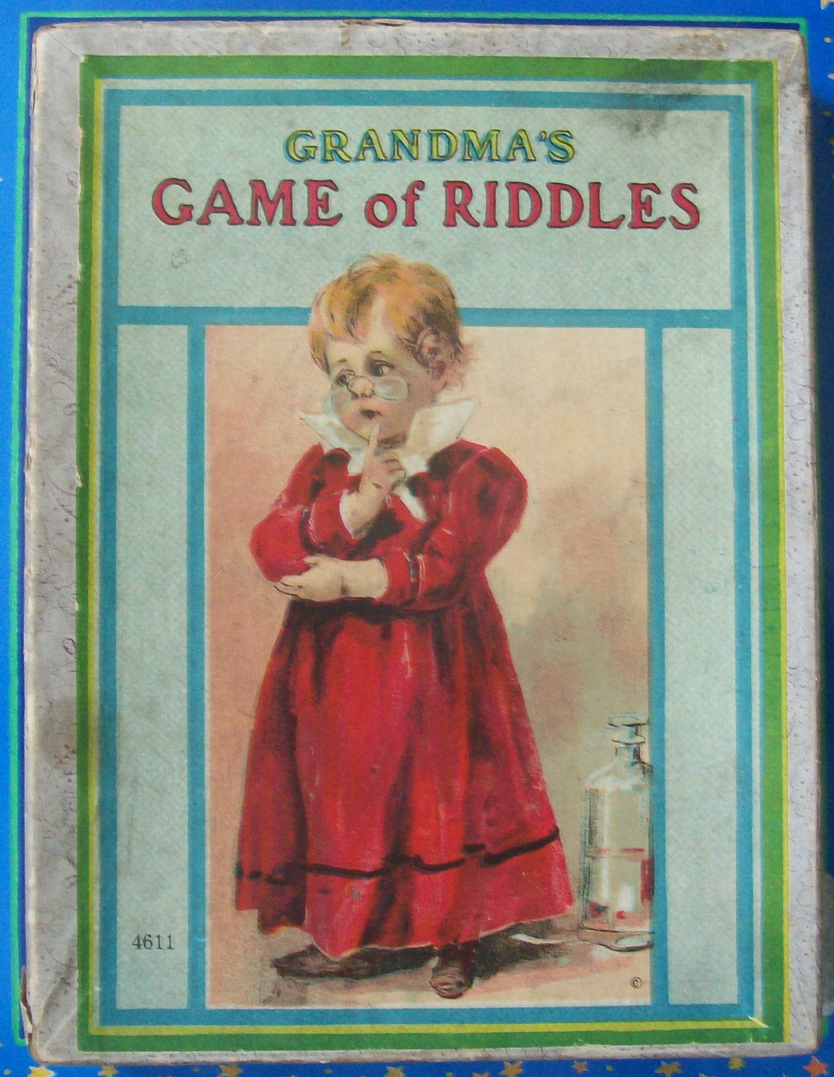 old milton bradley game of riddles