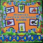 pressman 1992 marvel super heroes game board