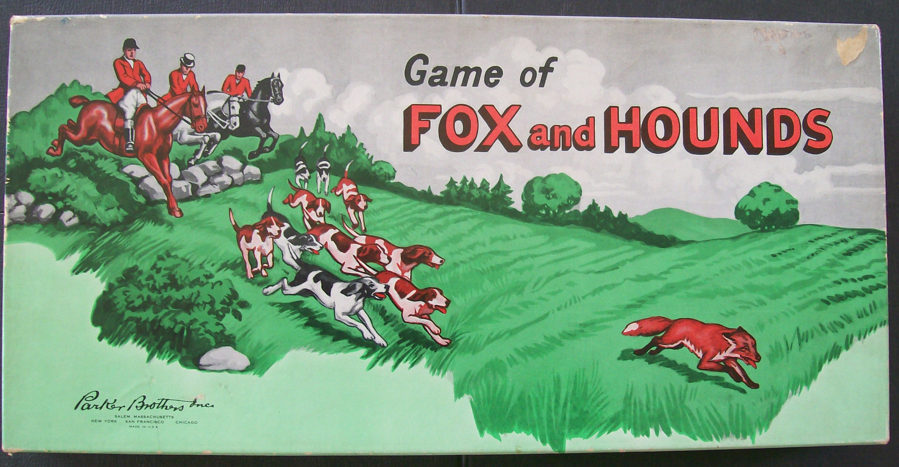 old 1948 parker brothers game