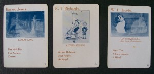 old parker brothers game cards