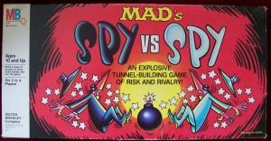 Vintage 1986 Milton Bradley board game spy vs spy