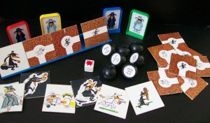 1986 milton bradly spy vs spy game pieces