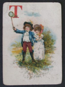 1874 mcloughlin bros game card