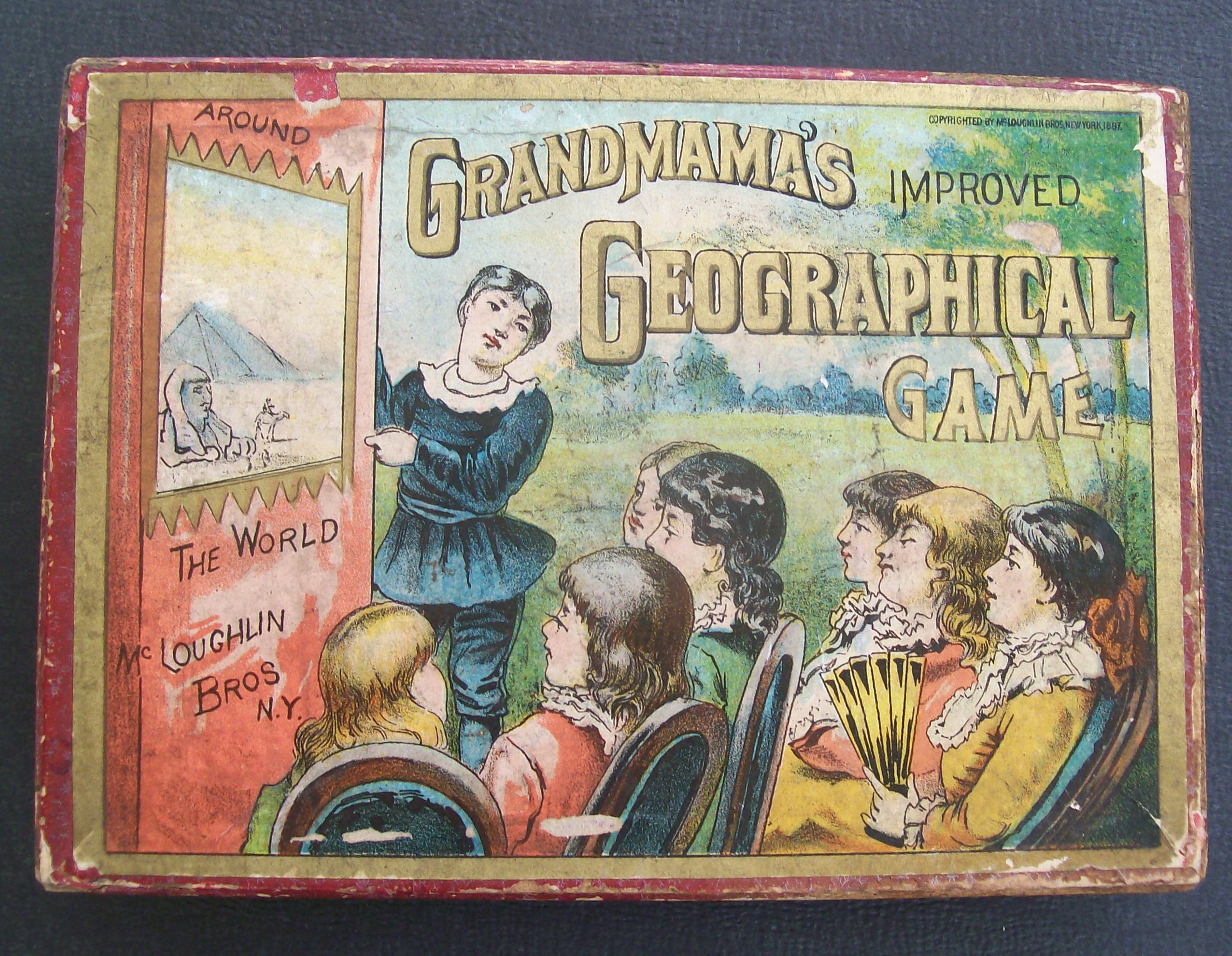 mcloughlin bros game 1887 grandma series