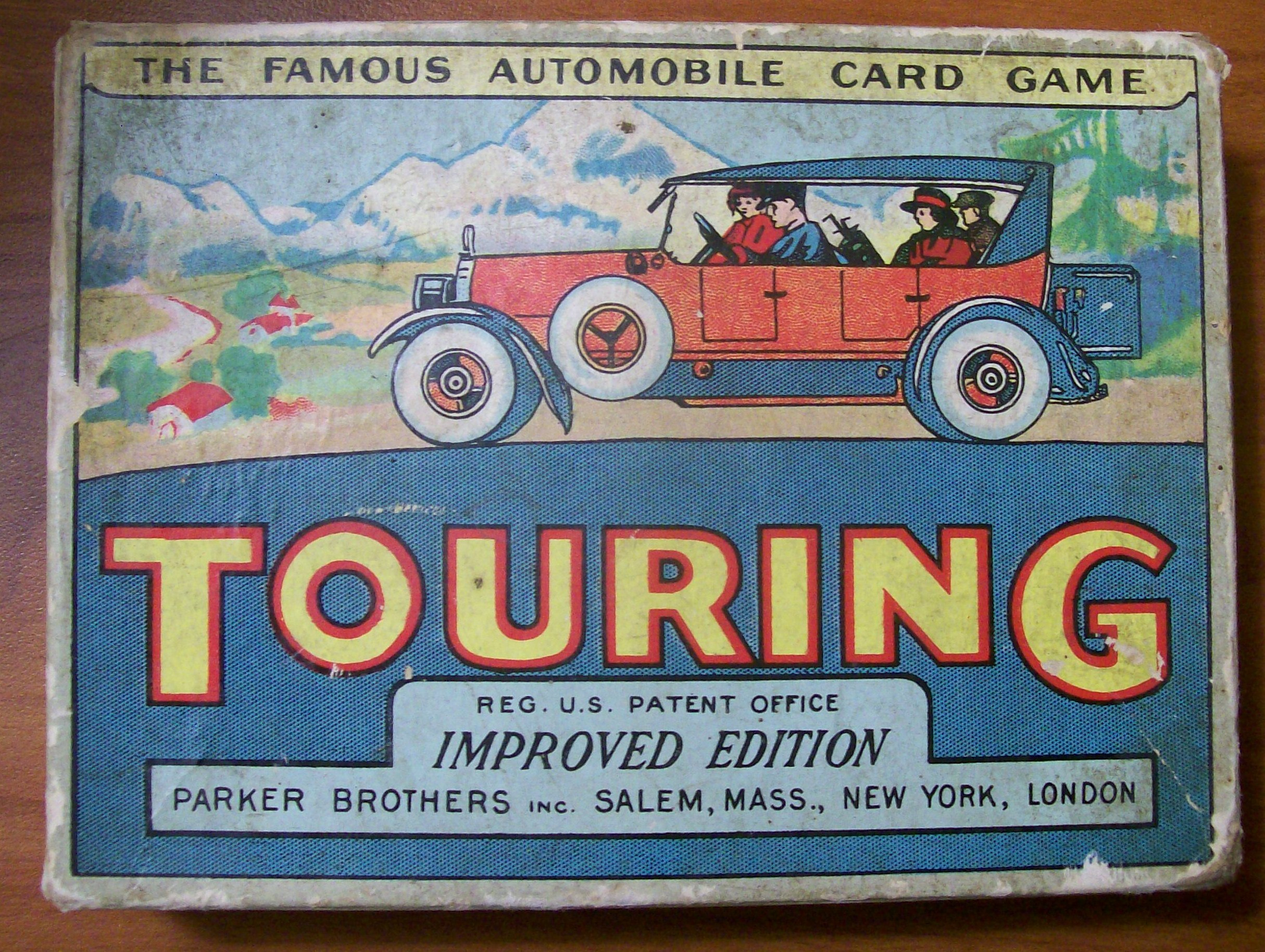 parker brothers 1926 card game