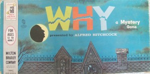 vintage 1958 milton bradley board game of why