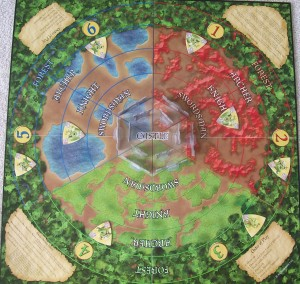 co op game board of castle panic