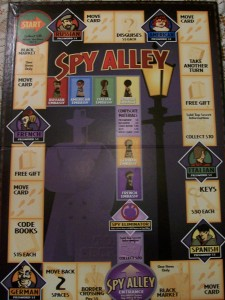 spy alley game board