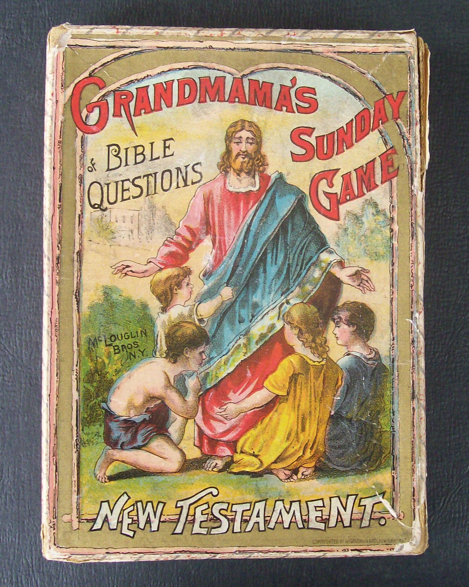 grandmama's sunday game new testament 1887