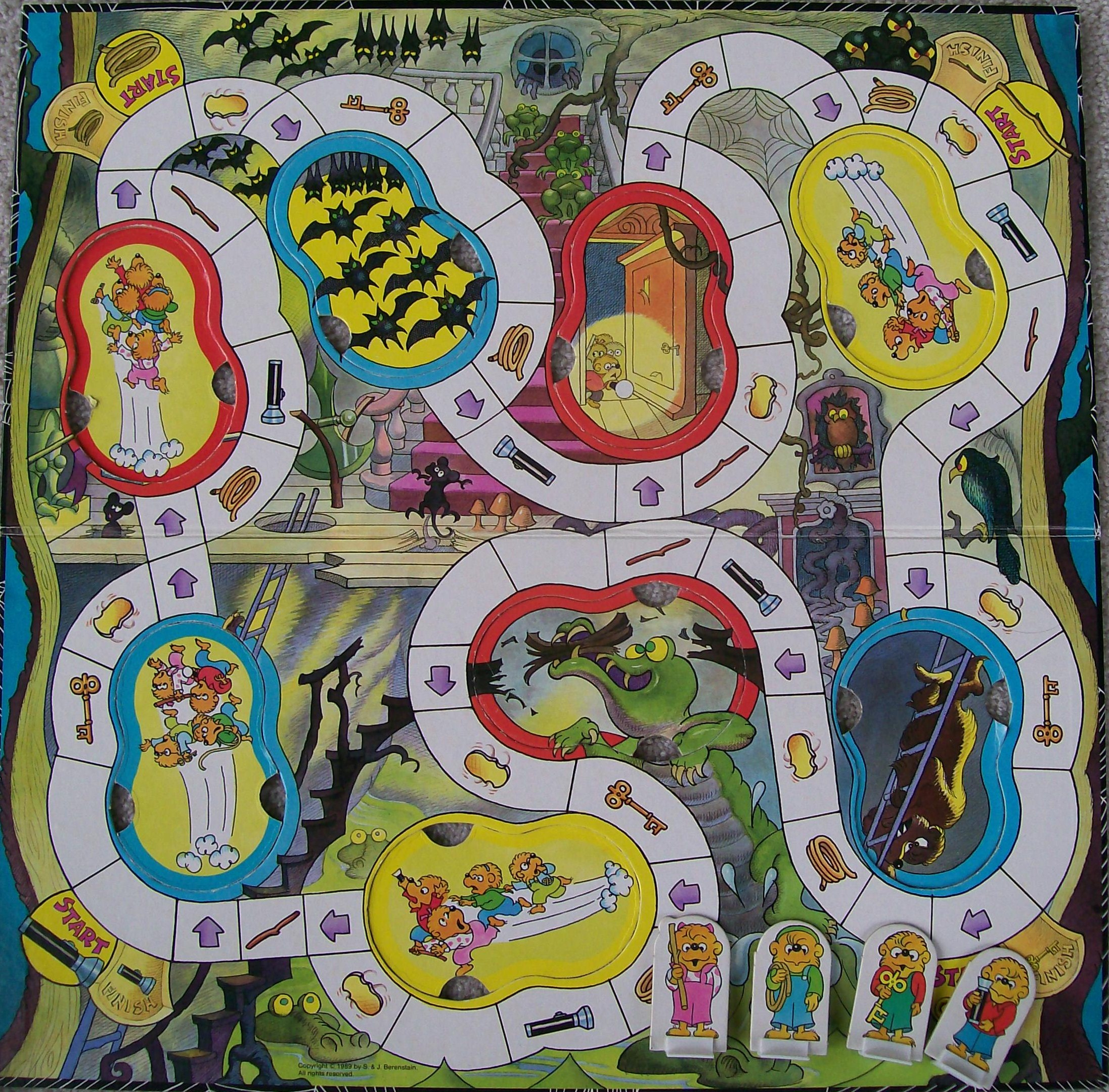 The Berenstain Bears Spooky Old Tree Game | Board Game ...