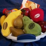 bananagrams, appletters, pairs in pears gift basket