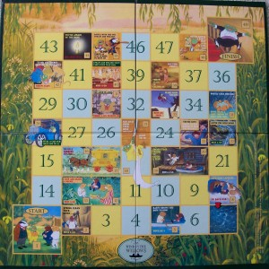 1997 readers digest wind in the willows game board
