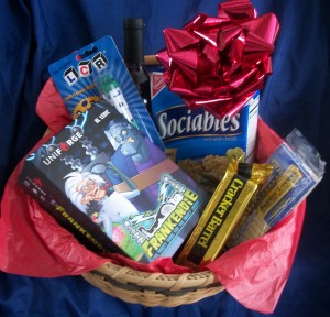 frankendie game in fun and games gift basket