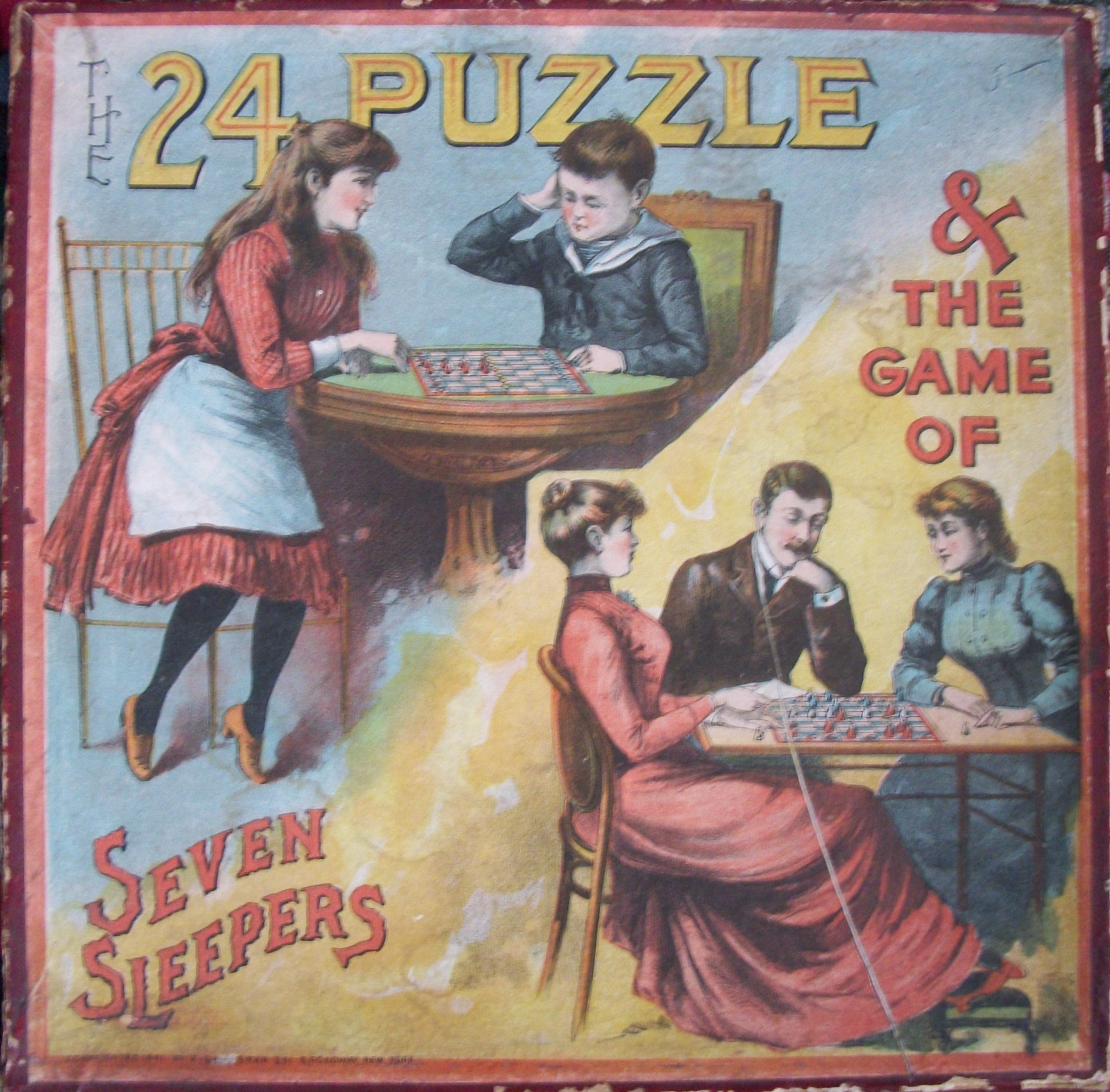 1891 E.I. Horsman board game