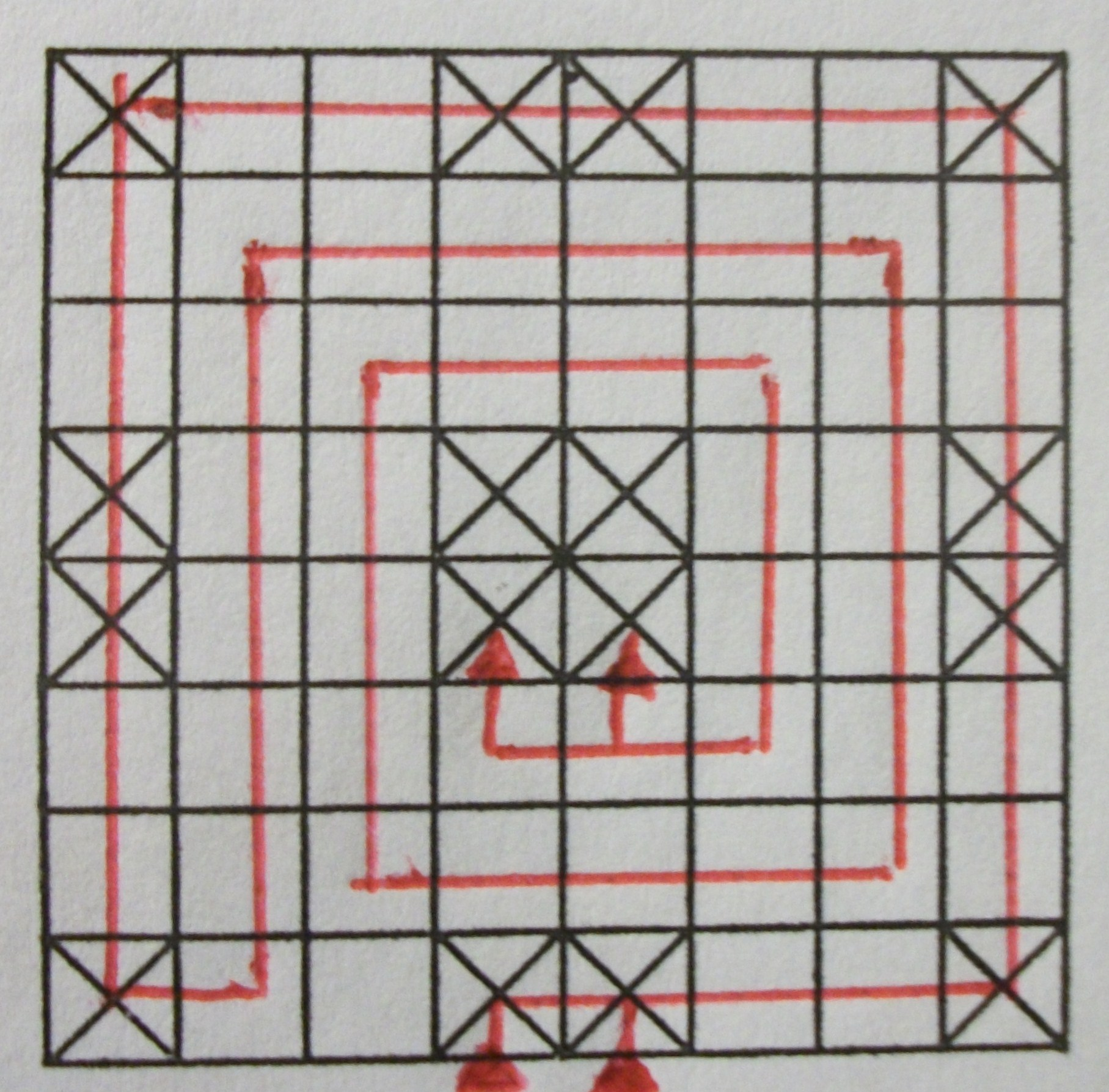 ancient game board ashtapada path