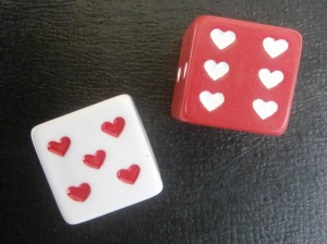 heart dice