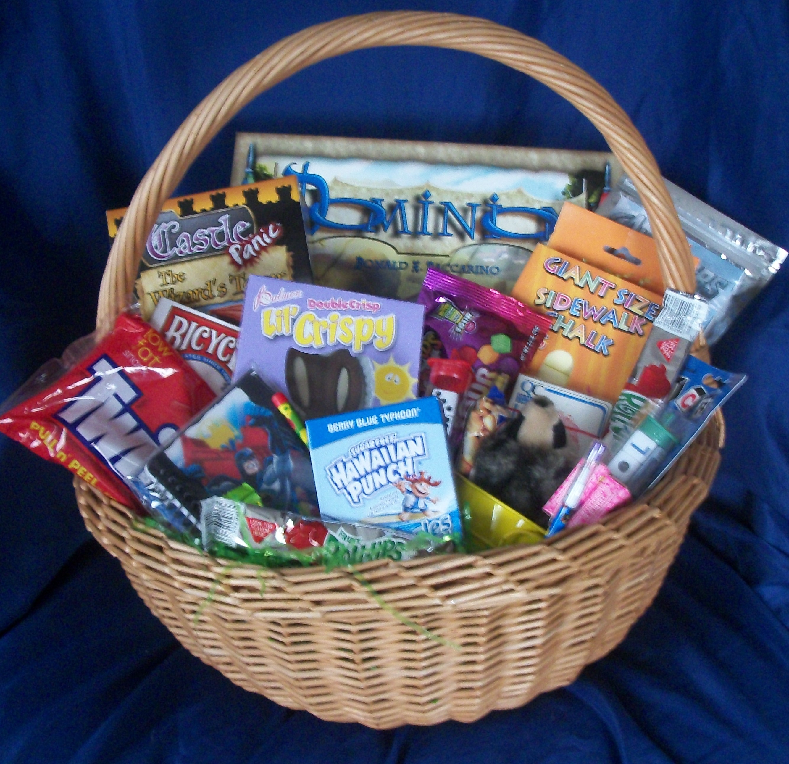 fun and games gift basket