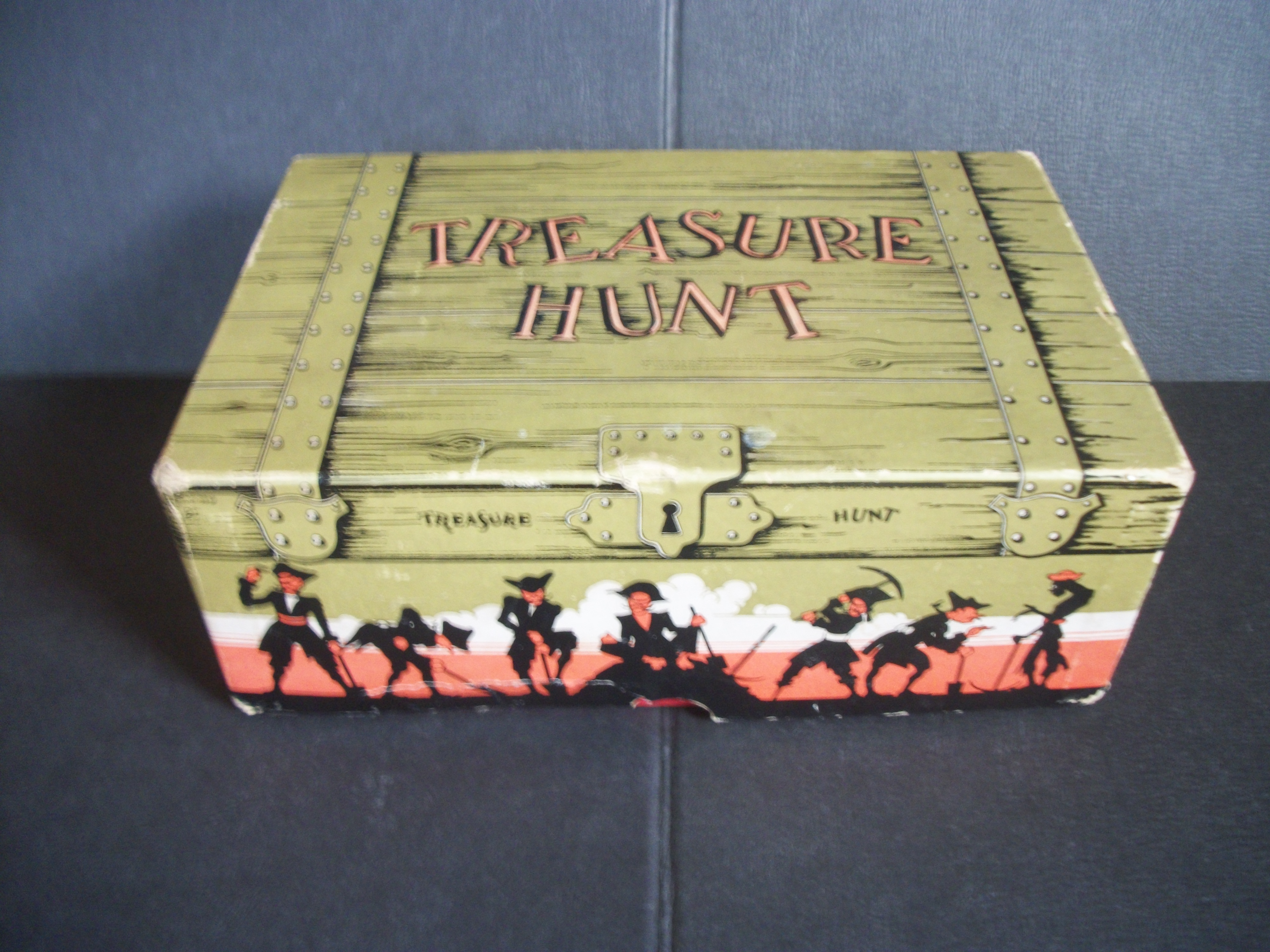 1940 Treasure Hunt Game