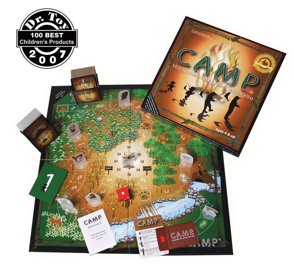 Play The Board Game Of Camp All About Fun And Games