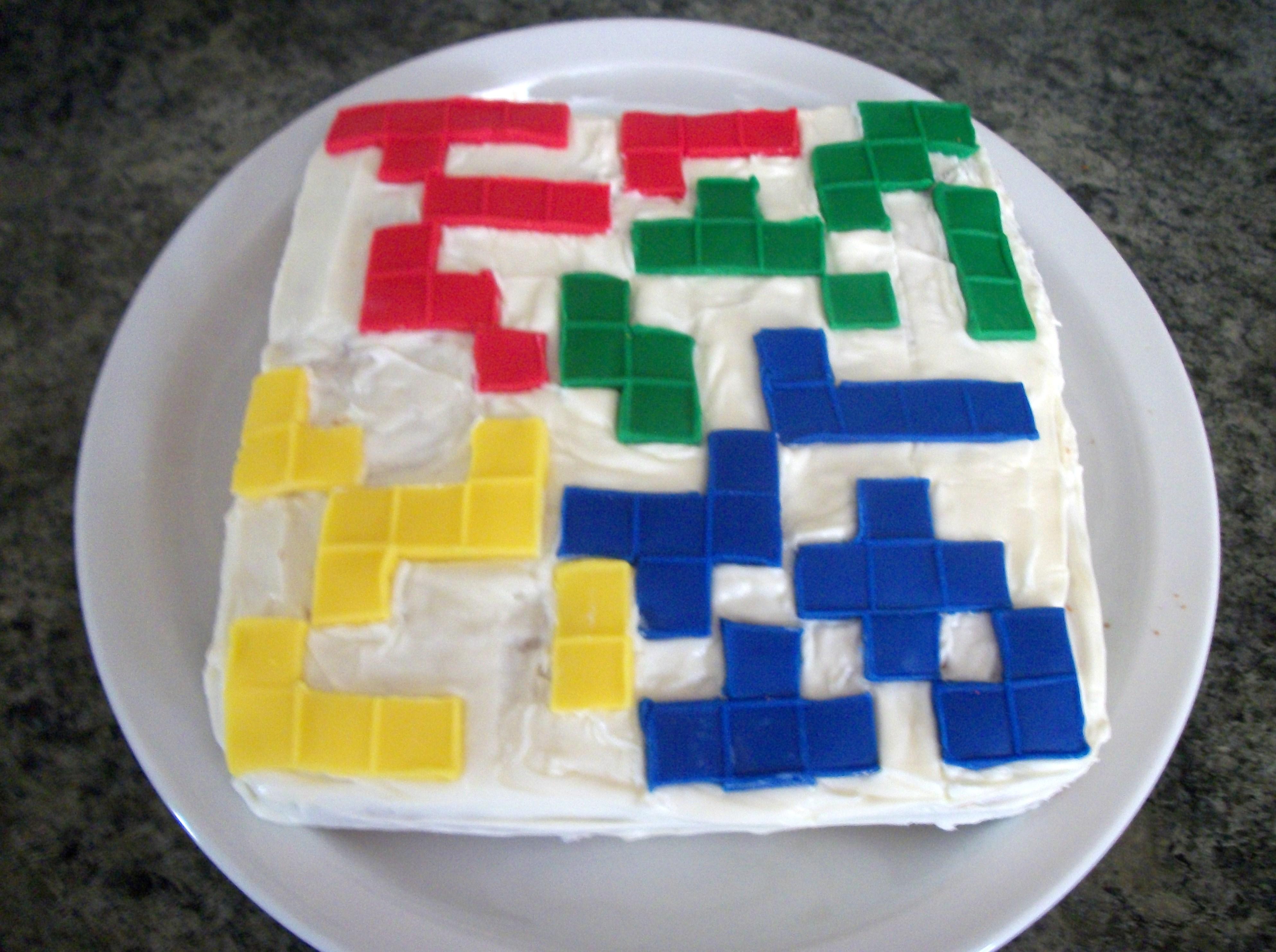 Blokus Cake