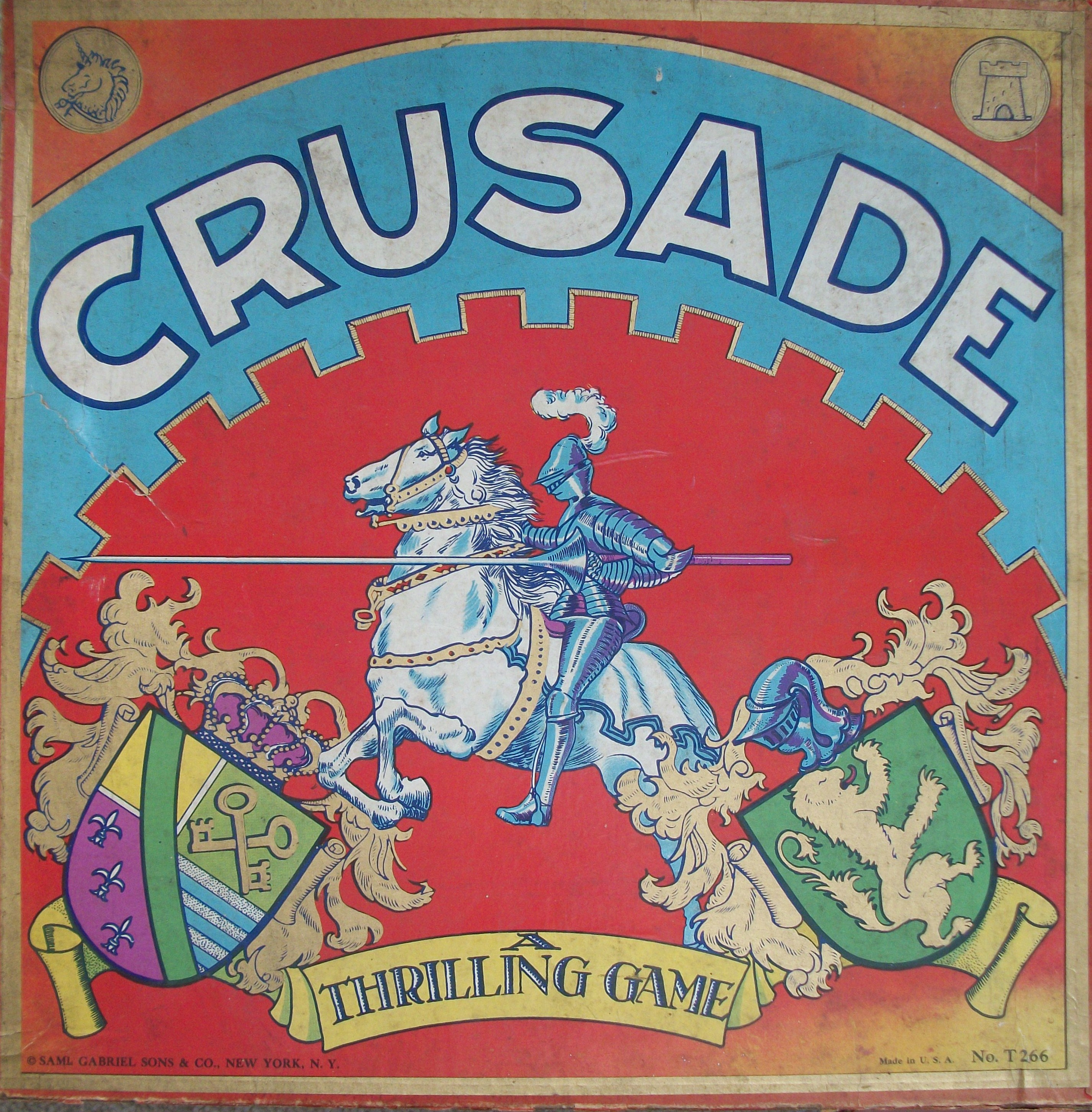 1923 Crusade game by Saml Gabriel Sons & Company