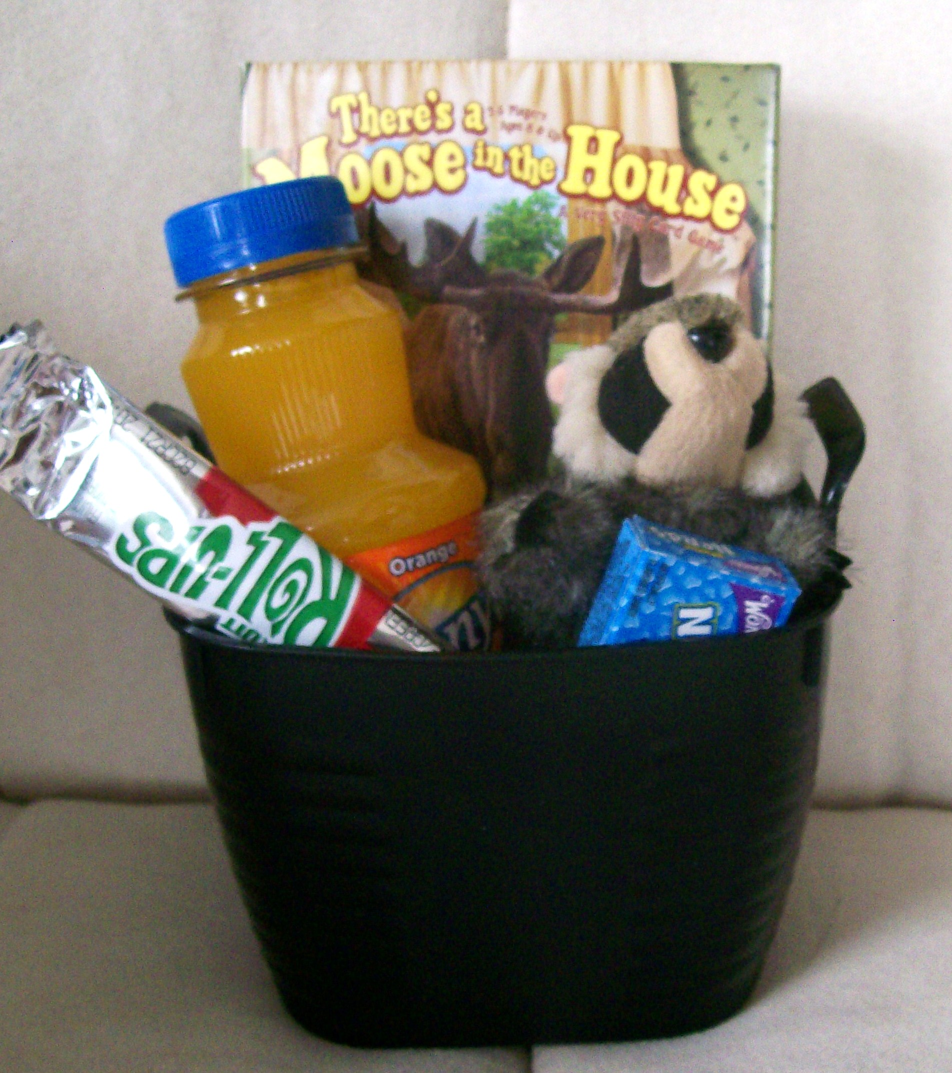 game gift basket for end of school