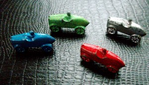 vintage parker brothers game pieces calling all cars