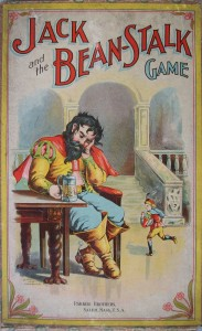 old parker brothers game jack and the beanstalk