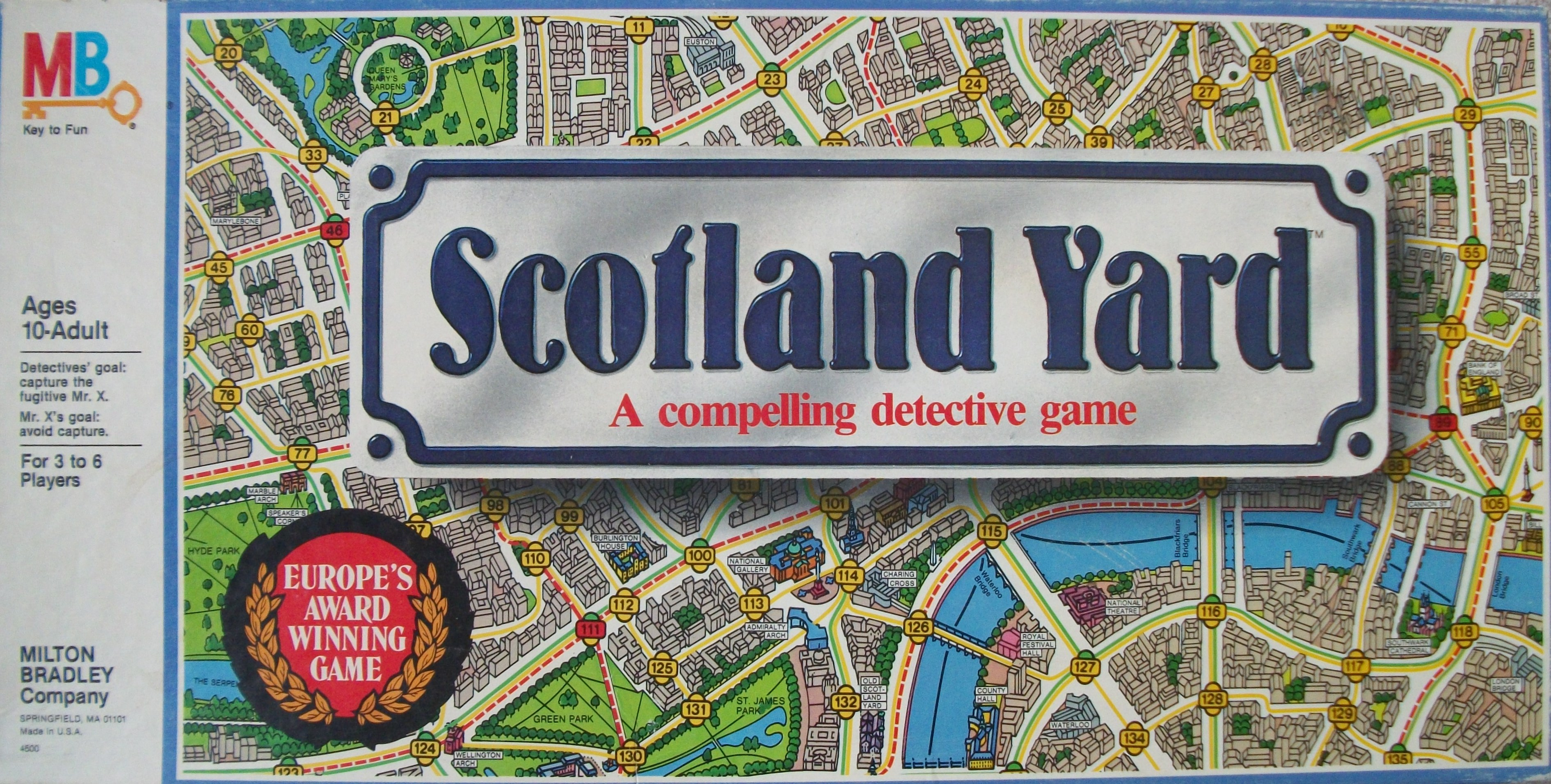 Play the Scotland Yard Board Game on Family Game Night – All About